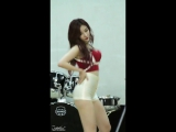 15.11.26 Pocket Girls (JuA) - Crazy in love dance cover @ concrt for 15 Department of the Air Force