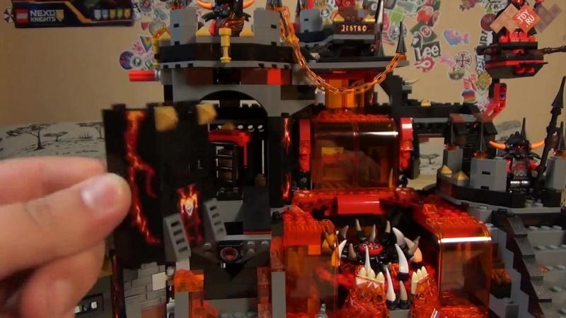 Новинка Лего Нексо Найтс Логово Джестро - 70323 - Самый большой новый набор Lego Nexo Knights