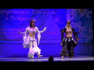 Шахматные Королевы на Новогоднем Бале в ДК Кировец