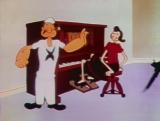 .Мультфильм Морячок Папай. Хозяйственные заботы.