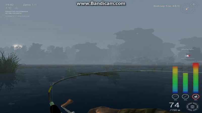 FishingPlanet баг с щукой-маскинонгом в Мичигане