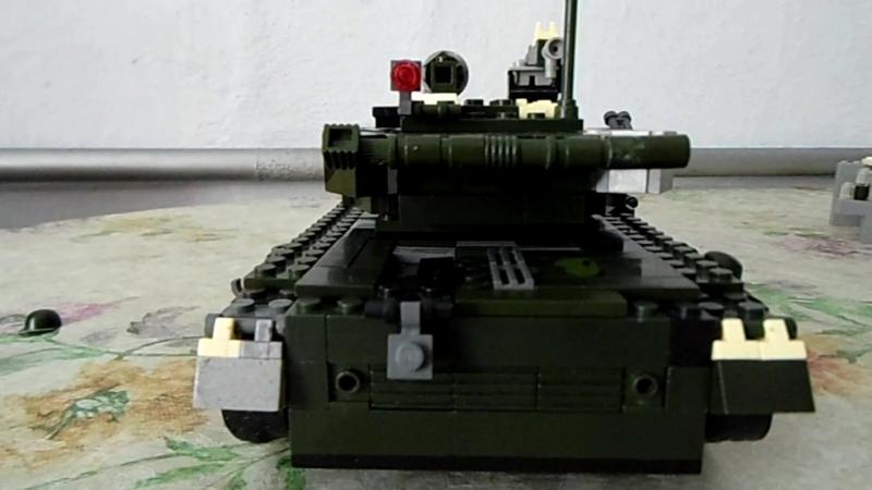 Обзор Т-64А з конструктора Лего.