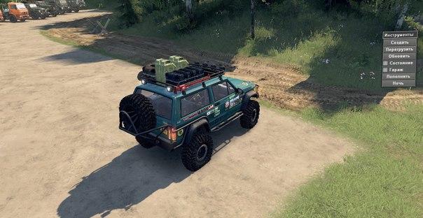 Jeep Cherokee для Spintires - Скриншот 1