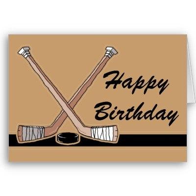 Прикольные поздравления хоккеиста с днем рождения