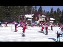 Старт девушек на 5 км. ( скиатлон 20.03.2016.)