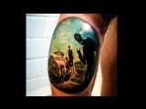 Tattoo artist Misha Link home studio ELI