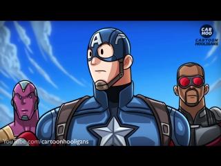 Что если бы это случилось в Первом Мстителе: Противостояние?! (DemonClash)