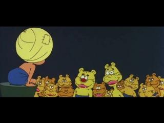 Али-баба и 40 разбойников (Япония, 1970) полнометражный мультфильм, советский дубляж