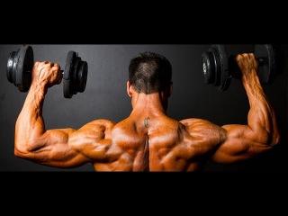 Как быстро накачать плечи в домашних условиях. Тренировка плеч.