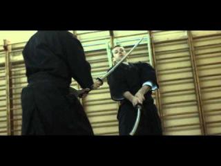 АЙКИДО-работа с оружием,против ножа