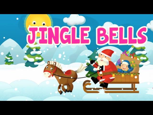 Jingle Bells with lyrics - Christmas Songs Kids Nursery Rhymes by EFlashApps - Video Dailymotion
