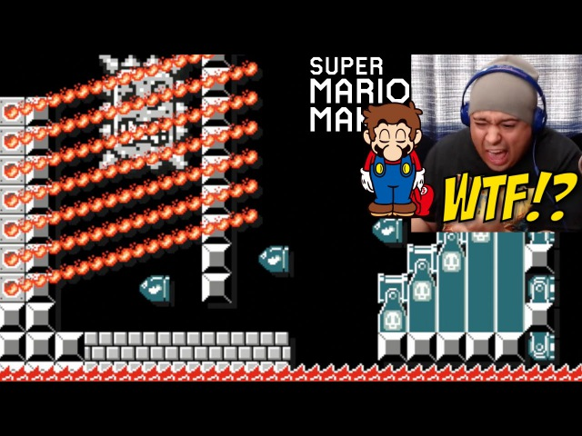 I THROW IN THE F%KING TOWEL!! [SUPER MARIO MAKER] [16]