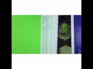 Shrek doesn't like to share his living space