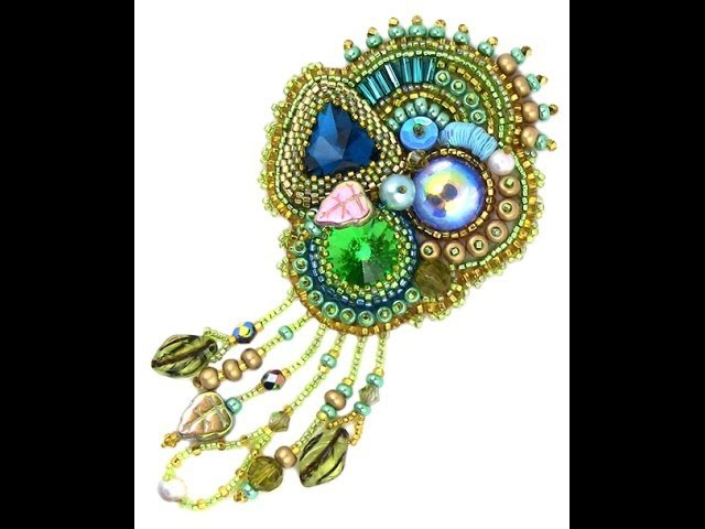 Bead Embroidery Essentials Section 1 Bezeling Stones