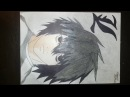 Speed Drawing - Lawliet L (Anime Death Note)