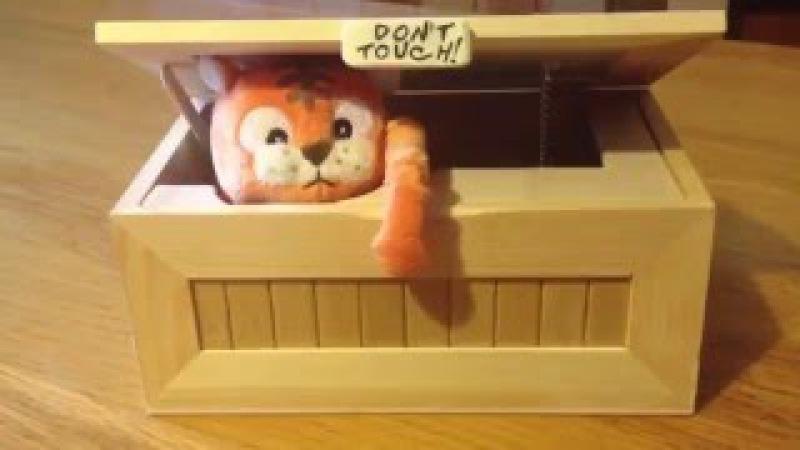 Посылка с Китая: Самая бесполезная коробка в мире/Смешная игрушка оставь меня в покое - URoboBox
