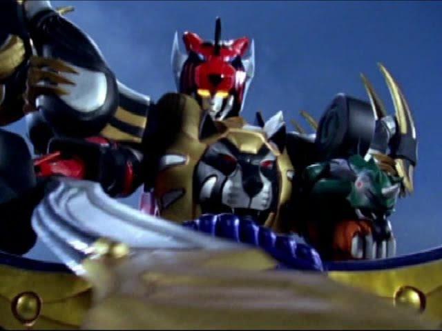 Power Rangers Jungle Fury - All Megazord Fights.