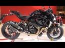 2016 Ducati Monster 1200 R with Ducati Accessorized Walkaround 2015 Salon Moto Paris