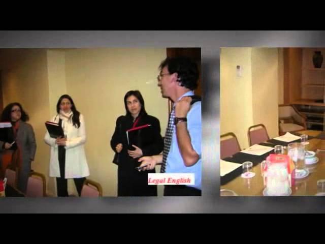 Dena Falken in Chile wtih Legal-Ease International Inc.