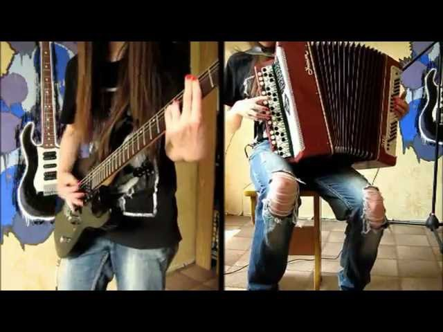 The Final Countdown - Europe (bayanguitar cover)