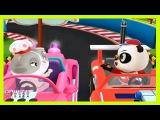 Автогонки Доктор Панда. Мультики про машинки. Dr Panda racers 1 серия