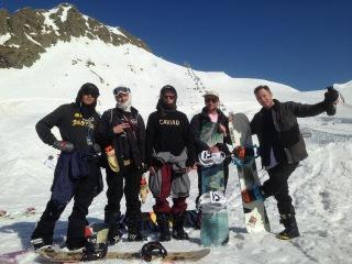 Видео снято во время проведения ежегодного сноуборд лагеря QUIKSILVER NEW STAR CAMP . Горки Город. Sochi.