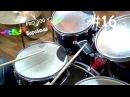 Урок игры на Барабанах 16 | Триольный парадидл, полиритмия | Видео школа «Pro100 Бара...