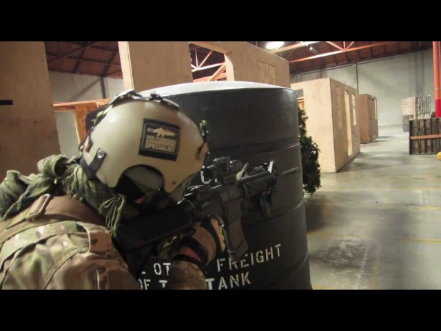 CQB CITY AIRSOFT ACTION FEBRUARY 4th 2012 (systema ptw mp5k g36c)