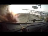 Настоящий грузовик на пульте управления