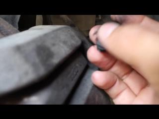 BMW Е60. Неисправность Датчика Тормозных Колодок BMW E60. Fault Brake Pad Sensor