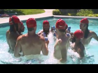 Если бы мужчины тоже участвовали в синхронном плавании
