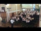 Водное крещение людей, Луцк, лето 2016