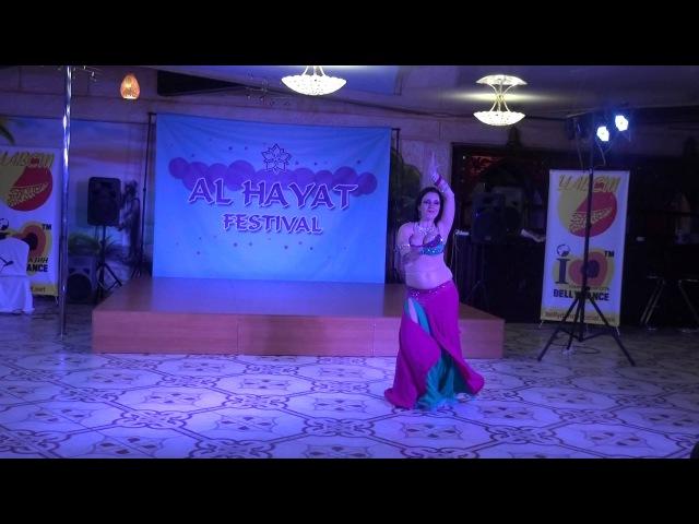Инна Бережная Аль-Хаят фестиваль Киев 2016
