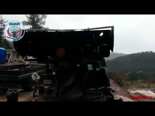 Syria-War_Video / Латакия. Ракетная установка на базе джипа / Syria. Rocket launcher based jeep