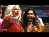 Conchita Wurst - AMSTERDAM GAY PRIDE - CANAL PARADE, 06.08.2016