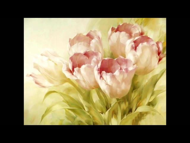 Мастер класс Игоря Сахарова Пишем тюльпаны