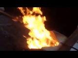 Пеллетная горелка Терминатор - работа на торфяной пеллете 3