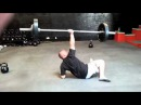 Meatball 165 lb Barbell Turkish Get Up