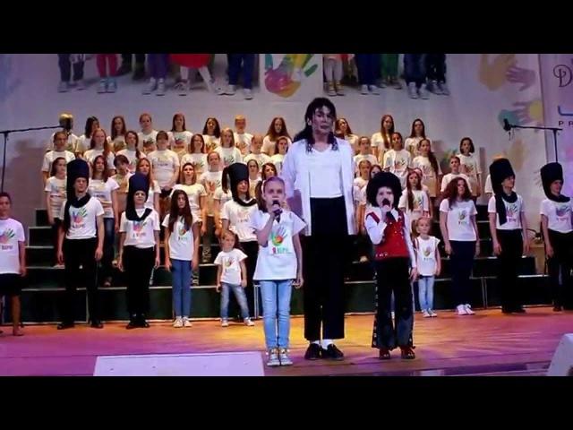 Двойник Майкла Джексона Павел Талалаев Will you be there - благотворительный концерт Я ВЕРЮ