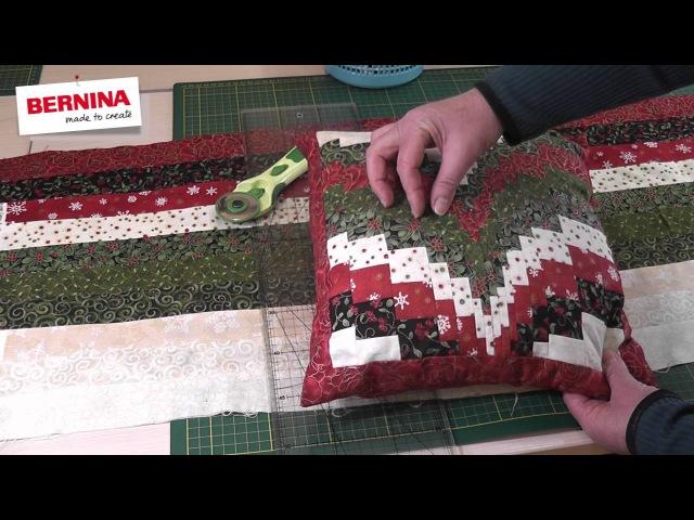 Мастер-класс Шьем подушку в технике барджелло