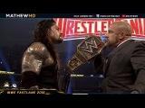 WWE Fastlane 2016 Highlights