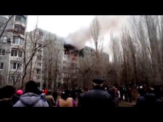 Взрыв в жилом доме в Волгограде: разрушены три квартиры