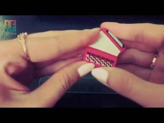 USB 2.0 флешка аккордеон 16 Гб