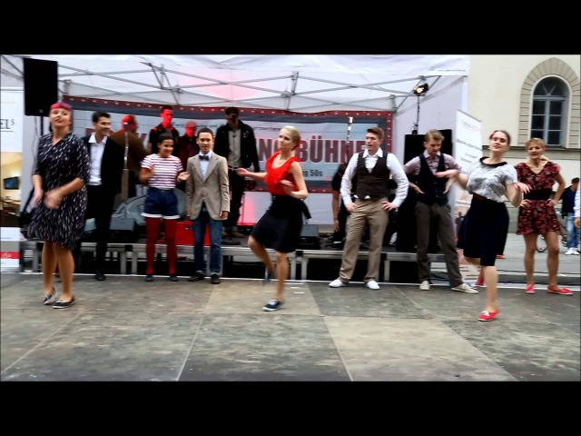 Rock That Swing Bühne - California Routine Lindy Hop Jam - Streetlife Festival 14./15.09.2013