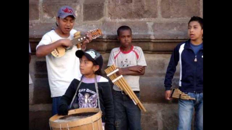 Nuevo NIÑOS CALLE MUSICOS NIÑOS CALLE MUSICOS Quito Old Town Ecuador