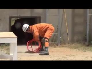 Японский пожарно-прикладной спорт или если бы Джеки Чан снимал фильмы про японских спасателей