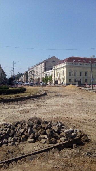 Тираспольская площадь - ремонт