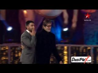 Star Screen Awards 2016 - Награждение 2-х лучших актёров года: Амитабха Баччана и Ранвира Сингха