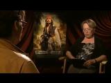 Пираты Карибского моря На странных берегах/Pirates of the Caribbean: On Stranger Tides (2011) Интервью №2 с Джонни Деппом (русск