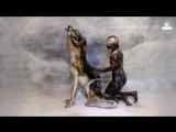 Волк - бодиарт